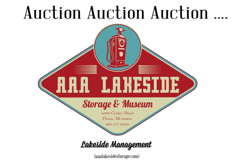Join us this Saturday, March 2nd at 10AM for an auction!